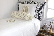 Dorm Decor / Fun ways to decorate your dorm!