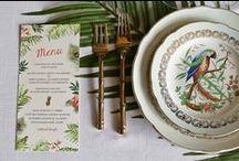 "3 - Wedding ""Colonial Jungle"" / Crédit Photos : PAUL & ZO Photography"