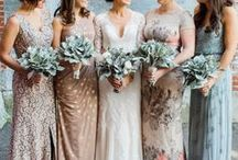 | BRIDESMAIDS | / Find inspiration for the bride and her bridesmaids by taking fashion cues from these styling ladies.