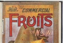 Sweet and juicy fruit / Vintage illustrations relating to the fruit industry 1900-1930s, from the collections of the State Library of NSW.