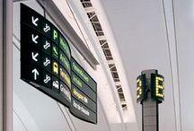 Signalétique - Signs & signage / - Projets de #signalétiques remarquables  - Inspirationnal #signs & #wayfinding systems & #signage