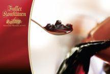 Original Black Forest Jam - Schwarzwald Marmelade / Production involves fruit being hand-stirred according to traditional family recipes, cooked in the copper pan. Nach traditionellen Familienrezepturen im offenen Kupferkessel gekocht, von Hand gerührt