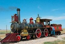 Trains and Old Steam Locomotives + Scenic Train Tours in US / Historic Trains and Old Steam Locomotive Photos  +  Scenic Train Tours and Steam Train Vacations in the US