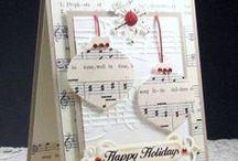 Kartki świateczne / Christmas cards / Inspiracje