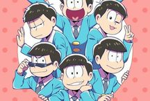 """Osomatsu-san / Cute art about the anime """"Osomatsu-san""""! I try to not put too many arts with shippings because I personally don't ship any of them. All karamatsu girls and boys are welcomed."""