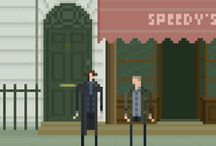 Sherlock Holmes / ... with a sprinkle of JohnLock.