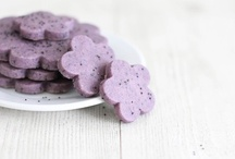 Violet Food / I love violet! Here some beautiful violet dishes without artificial colorants! <3