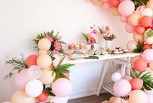 Eco Party Inspiration / Lots of lovely eco-friendly ways to have a fun & colourful kids party
