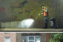 Wall Art / Graffiti, murals, sometimes hand painted advertising - public art that we can all share... / by vintagecurios