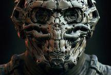 #cybernetics / Sci-fi