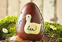 Easter Eggs / Our Easter Eggs are handmade to perfection using the finest Swiss Chocolate. All decorated by hand, our unique range is almost too beautiful to eat!