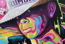 """Jamming Murals,Street, & Public Art / This is some of the most amazing art to the 3rd degree. Mural and public art shows us how important and universal art can be. Public art give us hope and is inspirational for the eyes to see. It is like """"Art Eye Candy to the 3rd Degree."""""""