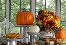 All things Autumnal / Ideas for entertaining and decorating this Halloween, bonfire night or indeed for any Autumnal parties