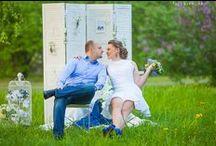Spring Wedding (Свадьба весной). / Фотограф Максим Филь - Свадебная фотосъемка весной. парк с сиренью, ширма и аксессуары в стиле прованс. Выездная свадебная фотосъемка.