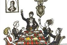 Burns Night parties / Celebrating the life of Robert Burns with haggis, neeps, tatties and a few friends...