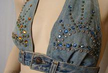 Nye ting af gamle jeans / Indpiration
