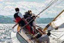 Sailing / To reach a port we must set sail – Sail, not tie at anchor Sail, not drift. Franklin D. Roosevelt