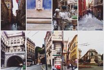 Genova, Italia / Там где сошлось так много всего и осталось мое сердце... Неожиданно прекраснейший город!