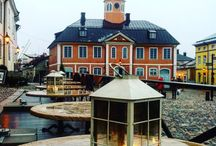 Porvoo, Suomi / Маленький и уютный финский город с богатой историей и красивой природой. Это было неожиданно круто и ярко!!!