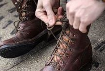 Vintage Mens Boots / Vintage Mens Boots From Our Collection
