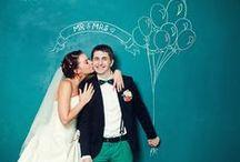 Green Wedding / Мелом на доске
