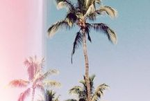 ♡ Summer ♡ / Late nights, bikinis, short shorts, beaches, flip flops, no make up, the list goes on as summer goes on.