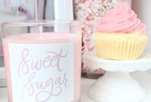 ♡ Candles ♡ / It smells good and adds a lot to your room.