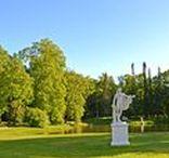 Ломоносов - Ораниенбаум / Совсем рядом с Петергофом и немного в ено тени находится этот чудный пригород со своим Большим дворцом и парком, очень красивыми и живописными.