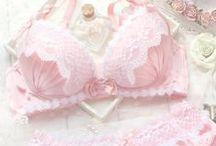 ♡ Lingerie ♡ / Cute adorable pink underwear