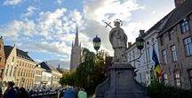 Brugge, Belgique / Пряничный и декоративный город, наполненный туристами, запахом вафель и загадками))