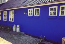 My Blue House / Welcome to my beautiful blue house in Denmark where I work as a full time artist.