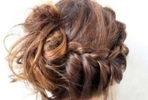 Hair Envy / pretty hair, updos, bangs, hairstyles