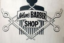 Barbershop / Ideas and inspiration for a project based around a Barbershop - primarily looking at typography, colours and patterns