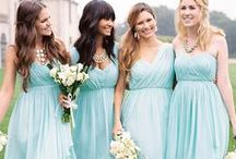 Bridesmaids Dresses / We have over 200 styles of bridesmaids dresses in the store for your girls to try on. We carry Amsale, Lula Kate, Alfred Sung, the Dessy Group, Jenny Yoo and Donna Morgan! Once you pick a style you and your girls can come in for a fun fitting party and enjoy treats and drinks while trying on the dresses!