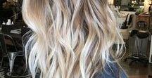 Hair Style Inspiration / Inspiring hair styles, beautiful hair color, easy hair style tutorials