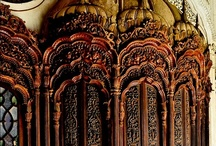 Architecture sculptures statues /  gothic arches cathedrals, abbies, chapels, gateways, structures and such