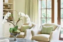 Staged Living Rooms / Living Rooms Staged To Sell or Staged to Live in too! #Living Rooms #Staging #Home Staging / by Barb Schwarz, Stagedhomes.com IAHSP