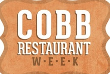 Cobb Restaurant Week 2012 / Come taste the good life and celebrate local cuisines with your favorite Cobb restaurants September 8-15! It is the perfect opportunity for food lovers to sample some of Cobb's finest local offerings with $15, $25 and $35, 3-course prix-fixe menu options.  www.cobbrestaurantweek.com