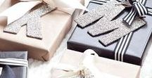 Gift Wrap Inspiration / Inspiring gift wrap ideas for all occasions
