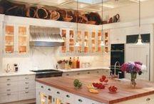 Home: Kitchen | Cozinha / The kitchen is the heart of the house, so here could not be lacking decor inspiration . *A cozinha é o coração da casa, então aqui não poderia faltar inspiração para decorar