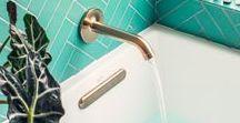 Home: Bathrooms | Banheiros / Bathrooms for relaxing  Banheiros para relaxar em casa