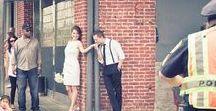 Photoshoot - Urban Trash the Dress / Inspiration for Urban trash the dress or engagement session, photoshoot