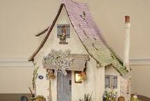 Craft Fairy House | Casa de Fada / Fairy House, Casas de Fada
