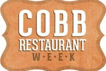Cobb Restaurant Week 2013 / Come taste the good life and celebrate local cuisines with your favorite Cobb restaurants September 7-14! It is the perfect opportunity for food lovers to sample some of Cobb's finest local offerings with $15, $25 and $35, 3-course prix-fixe menu options. www.cobbrestaurantweek.com