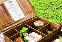 Picnic / I love picnics and picnic baskets, here is some picnic food inspiration, decor and  setting