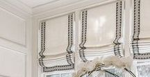 Window Treatment Inspiration / Inspiring Window Treatments for your home