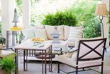 Outdoor Space Inspiration / Inspiring Outdoor Spaces, Outdoor Design and Outdoor Decor