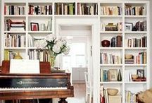 - Library / Music Room - / Books & Music, they mesh well together..