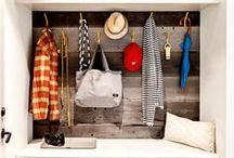 - Mudroom / Sunroom - / Cubbies, Coat Hooks & More...