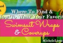 Wrap It Up: Fun Summer Coverups Sarongs & Wraps / Wraps, sarongs, pareos and coverups for the #summer - a few of my favorites. For the other kind of wrap (the at-home body wrap to tighten & tone your tummy) visit me at http://michelelersch.com.